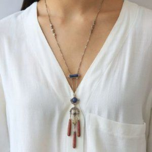 Sunlit Savanna Two-Row Convertible Necklace